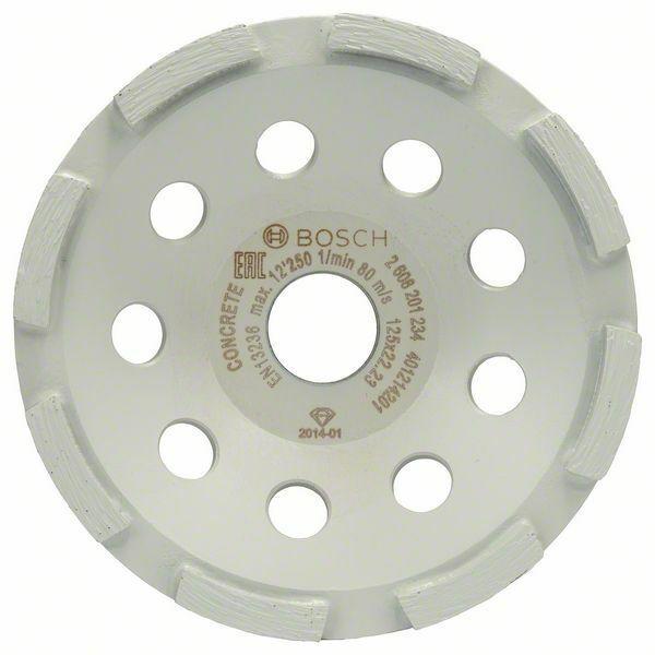 Diamantový hrncový kotouč Standard for Concrete; 125 x 22,23 x 5 mm - 3165140772211 BOSCH