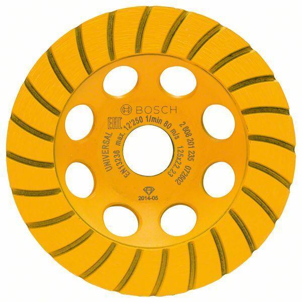 Diamantový hrncový kotouč Standard for Universal Turbo; 125 x 22,23 x 5 mm - 3165140772228 BOSCH
