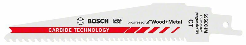 Pilový list do pily ocasky S 956 XHM; Progressor for Wood + Metal - 3165140772976 BOSCH