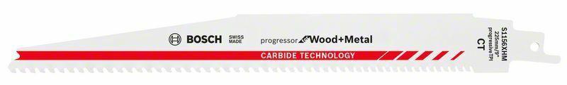 Pilový list do pily ocasky S 1156 XHM; Progressor for Wood + Metal - 3165140772983 BOSCH