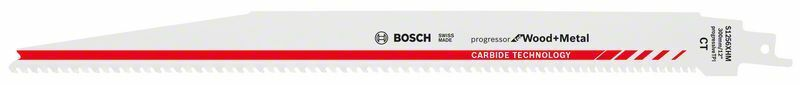 Pilový list do pily ocasky S 1256 XHM; Progressor for Wood + Metal - 3165140772990 BOSCH