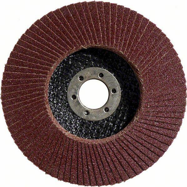 Lamelový brusný kotouč X431, Standard for Metal; 125 x 23 mm, 80 (Balení 10 ks) BOSCH
