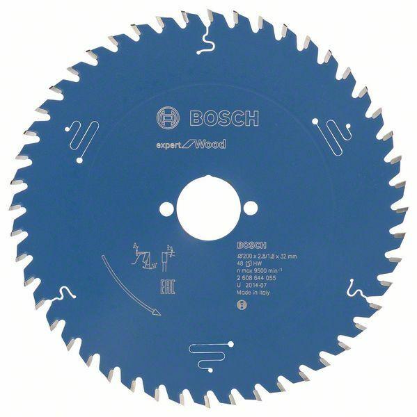 Pilový kotouč Expert for Wood; 200 x 32 x 2,8 mm, 48 - 3165140796217 BOSCH