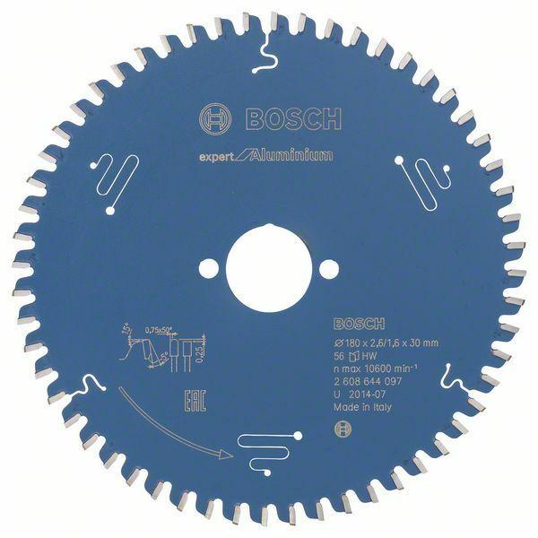 Pilový kotouč Expert for Aluminium; 180 x 30 x 2,6 mm, 56 - 3165140796637 BOSCH