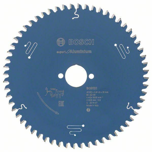 Pilový kotouč Expert for Aluminium; 200 x 30 x 2,8 mm, 60 - 3165140796699 BOSCH
