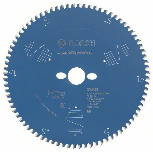 Pilový kotouč Expert for Aluminium; 254 x 30 x 2,8 mm, 80 - 3165140796781 BOSCH
