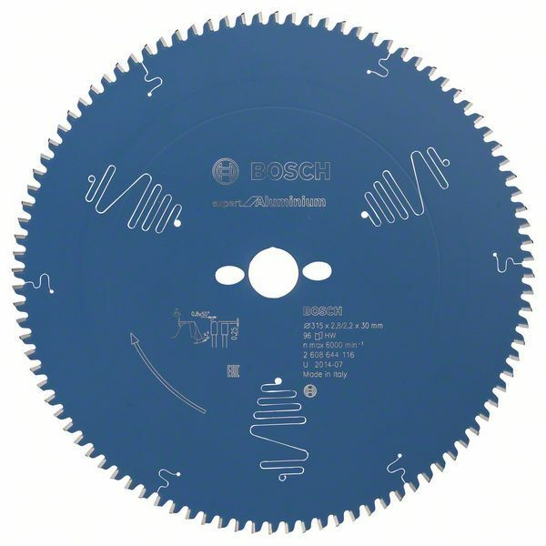 Pilový kotouč Expert for Aluminium; 315 x 30 x 2,8 mm, 96 BOSCH