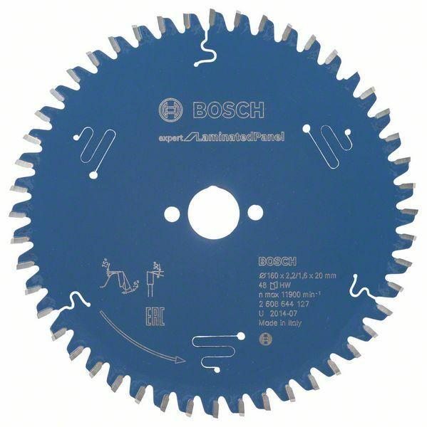 Pilový kotouč Expert for Laminated Panel; 160 x 20 x 2,2 mm, 48 - 3165140796934 BOSCH