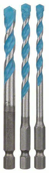 3dílná sada víceúčelových vrtáků HEX-9 Multi Construction - 5; 6; 8 mm - 3165140800259 BOSCH