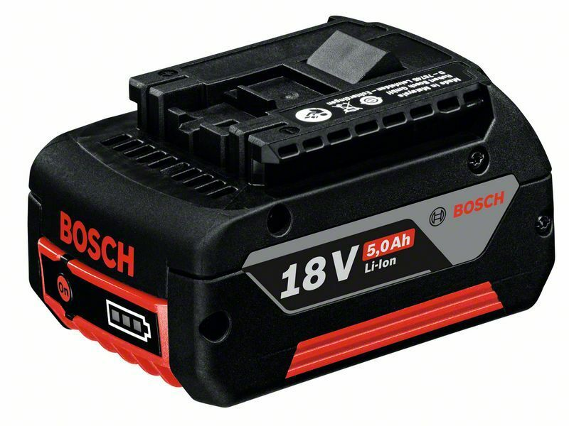 Zásuvný akumulátor GBA 18V 5,0Ah M-C; HD, 5,0 Ah, Li Ion - 3165140801300 BOSCH