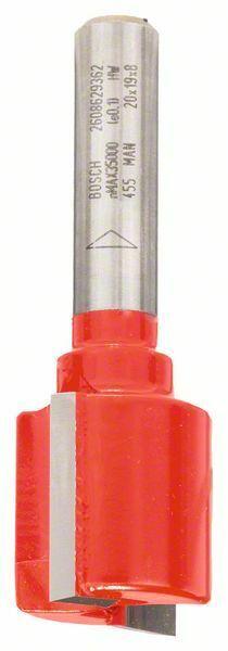 Drážkovací fréza; 8 mm, D1 20 mm, L 19 mm, G 56 mm - 3165140802093 BOSCH