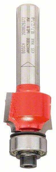Zaoblovací fréza; 8 mm, D 18,7 mm, R1 3 mm, L 12,7 mm, G 55 mm - 3165140802192 BOSCH