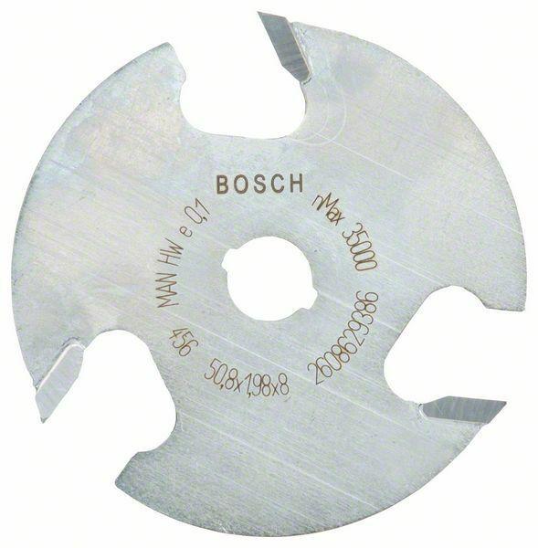 Kotoučová fréza; 8 mm, D1 50,8 mm, L 2 mm, G 8 mm - 3165140802338 BOSCH