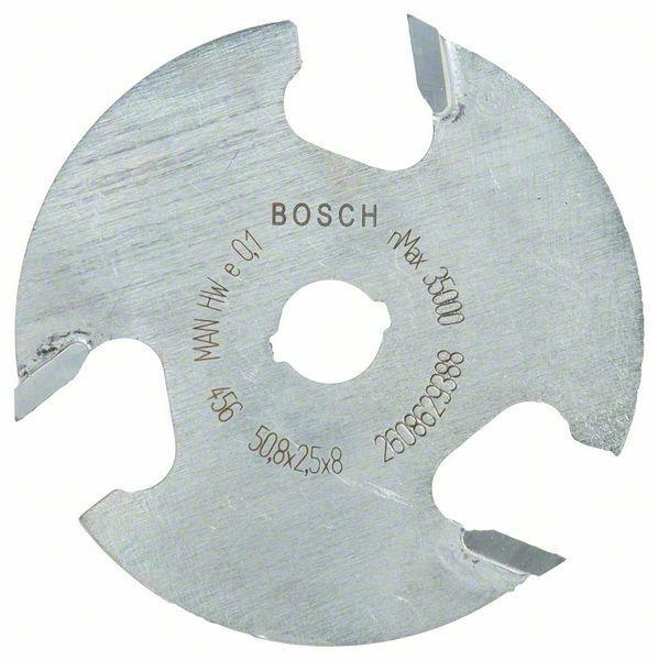 Kotoučová fréza; 8 mm, D1 50,8 mm, L 2,5 mm, G 8 mm - 3165140802352 BOSCH