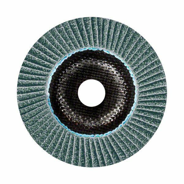 BOSCH Lamelový brusný kotouč X781, Best for Metal; 125 mm, 22,23 mm, 40 - 2608601478