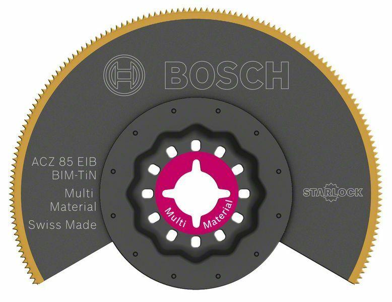 Segmentový pilový kotouč BIM-TiN ACZ 85 EIB Multi Material - 85 mm - 3165140832922 BOSCH