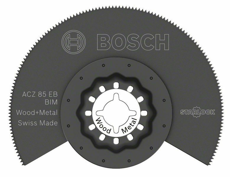 BIM segmentový pilový kotouč ACZ 85 EB Wood and Metal - 85 mm - 3165140832939 BOSCH