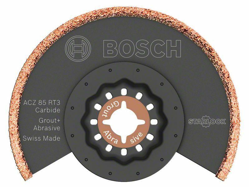Tvrdokovem osazený segmentový pilový kotouč s tvrdokovovými zrny RIFF ACZ 85 RT3 - 85 mm - BOSCH