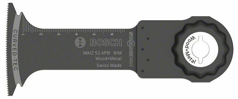 Ponorný pilový list BIM MAII 52 APB Wood and Metal - 52 x 70 mm - 3165140833134 BOSCH