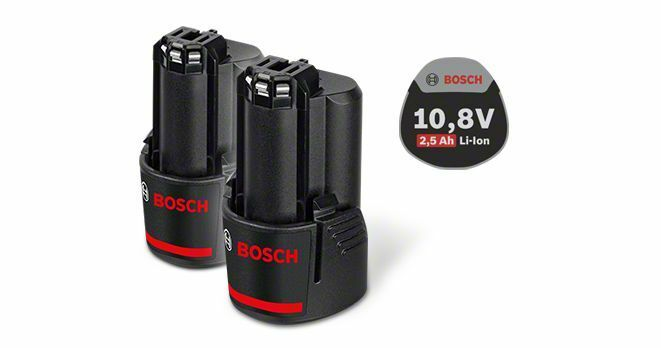 Zásuvný akumulátor 10,8 V - Standard Duty (SD), 2,5 Ah, Li-Ion, GBA - 3165140837842 BOSCH