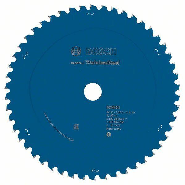 Pilový kotouč Expert for Stainless Steel - 255 x 25.4 x 2,5/2,2 mm, 50 - 3165140839945 BOSCH