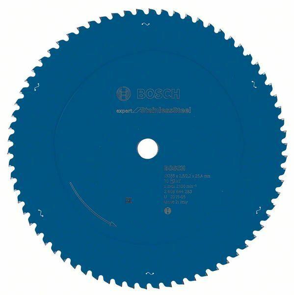 Pilový kotouč Expert for Stainless Steel - 355 x 25.4 x 2,5/2,2 mm, 70 - 3165140839976 BOSCH