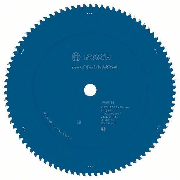 Pilový kotouč Expert for Stainless Steel - 355 x 25.4 x 2,5/2,2 mm, 90 - 3165140839983 BOSCH