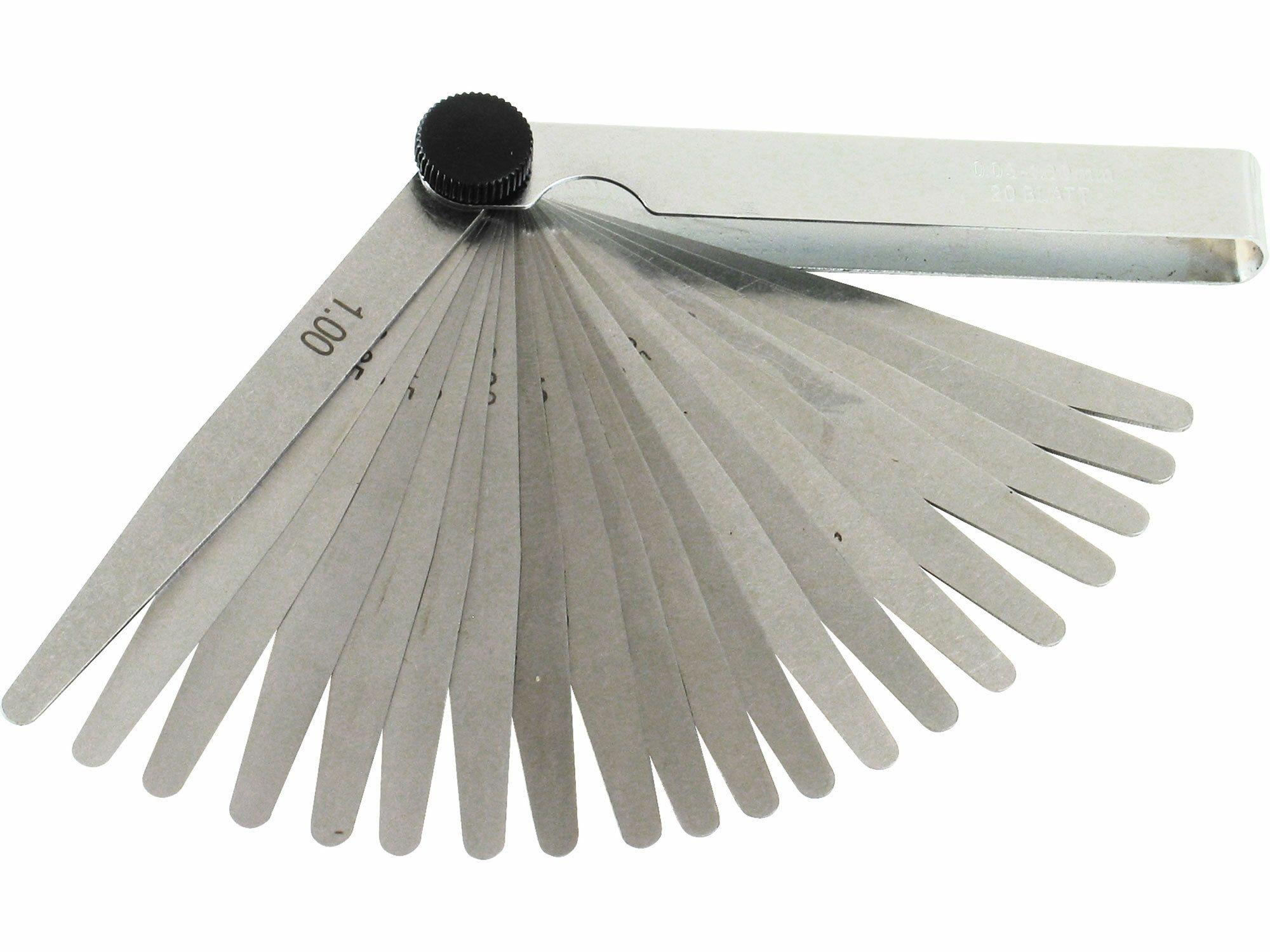 Měrky spárové, 20ks, 0,05-1mm EXTOL-CRAFT
