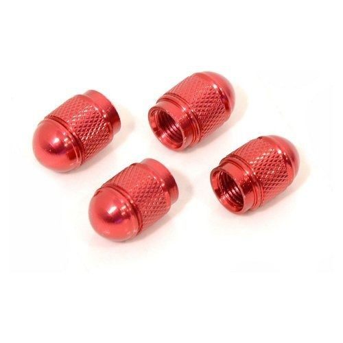 Ozdobné kryty ventilků červené, COMPASS