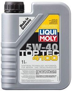 Motorový olej Liqui Moly Top Tec 4100 5W40 1L LIQUI-MOLY