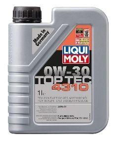 Motorový olej Liqui Moly Top Tec 4310 0W30 1L LIQUI-MOLY