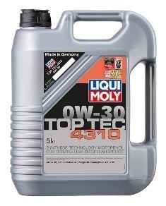 Motorový olej Liqui Moly Top Tec 4310 0W30 5L