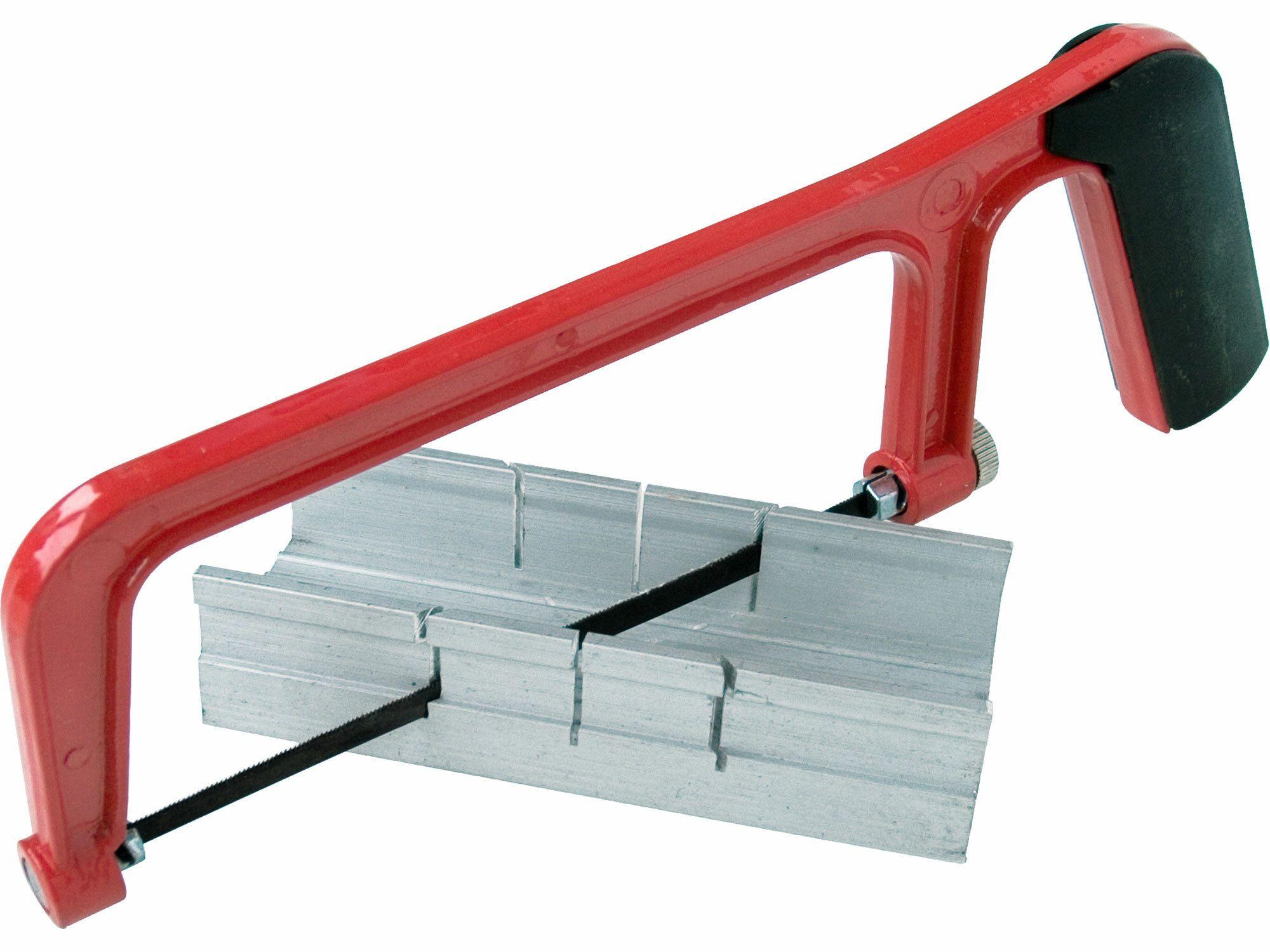 Přípravek na řezání úhlů s pilou, 135mm, hliníkový přípravek 135x47x23mm, EXTOL CRAFT
