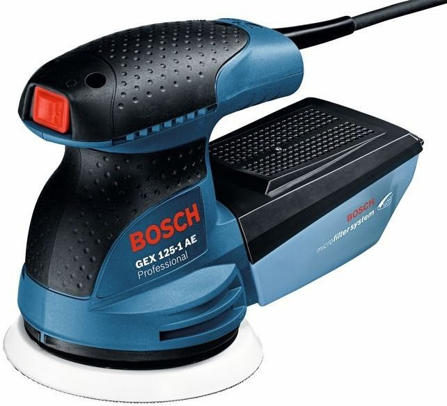 Excentrická bruska Bosch GEX 125-1 AE Professional - 1x použito, funkční