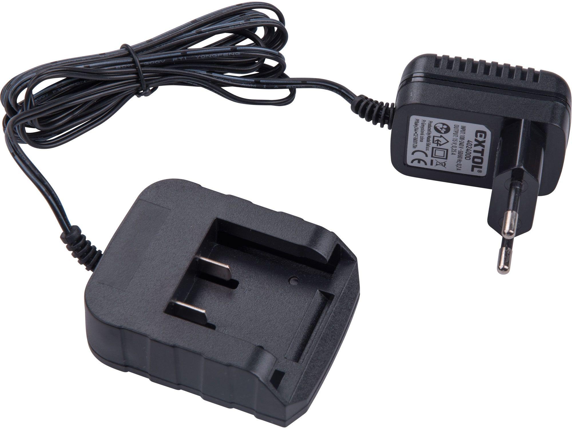 Nabíječka, pro 12V Li-ion baterie, vhodné pro 402400 EXTOL-CRAFT
