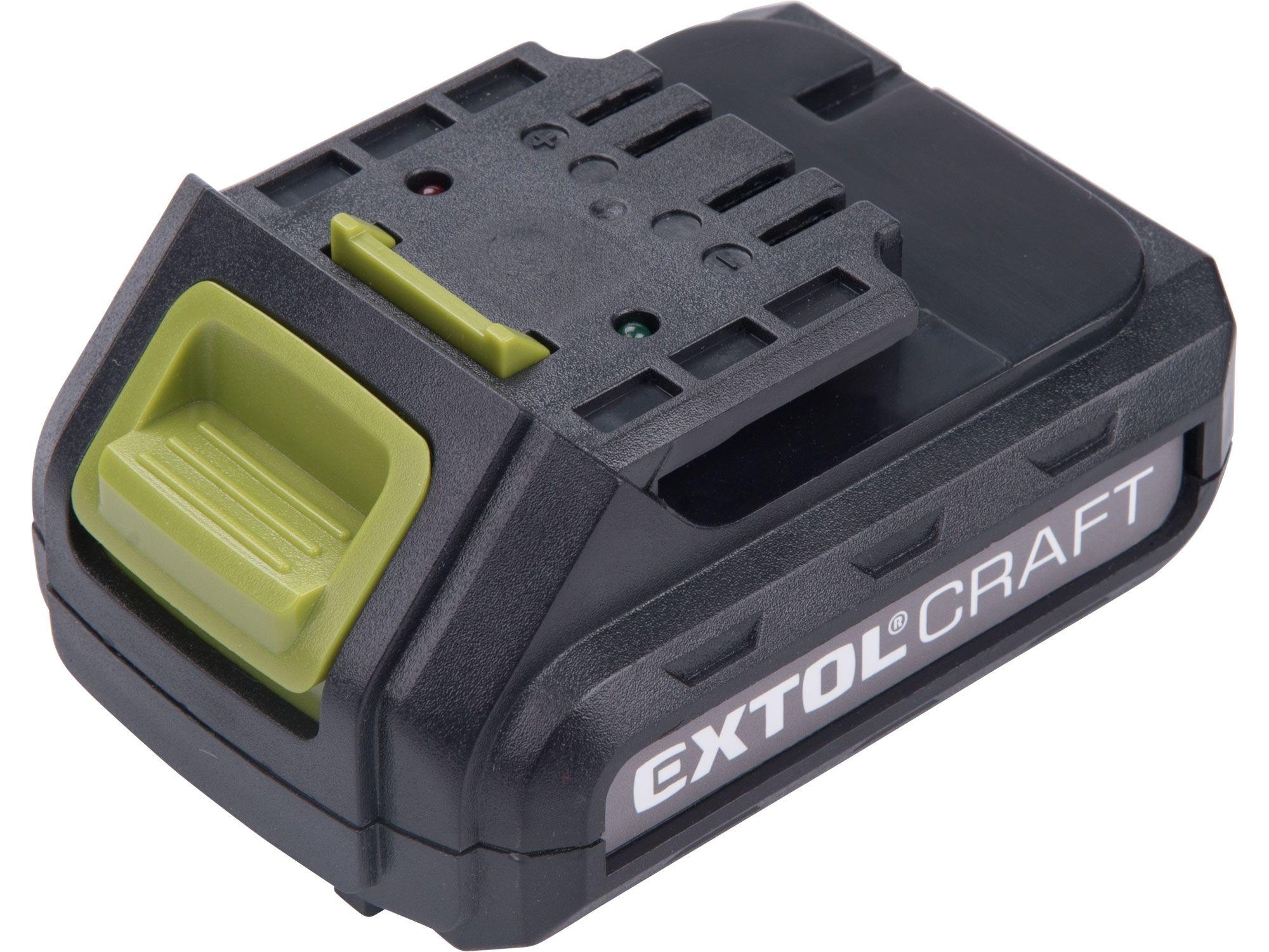 Baterie akumulátorová, 12V Li-ion, 1300mAh, pro 402400 EXTOL-CRAFT