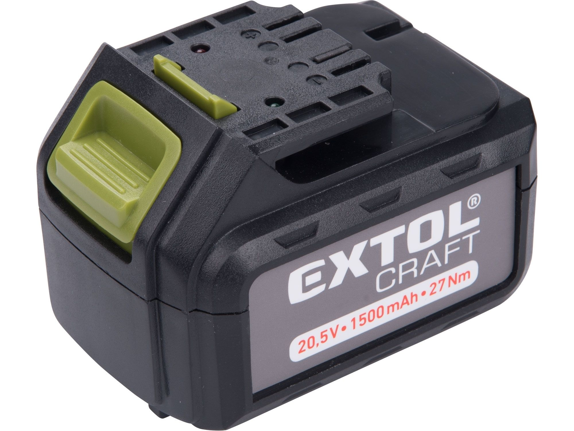 Baterie akumulátorová, 20V Li-ion, 1500mAh, pro 402440 EXTOL-CRAFT