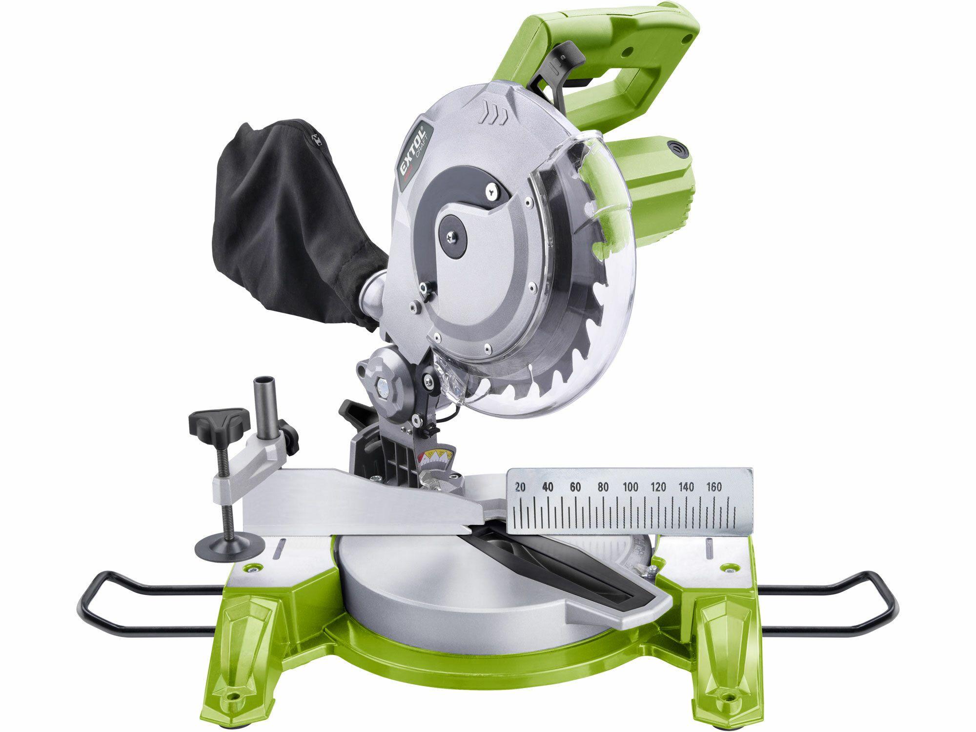 Pila pokosová s laserem, 210mm, 1450W, EXTOL CRAFT, 405412