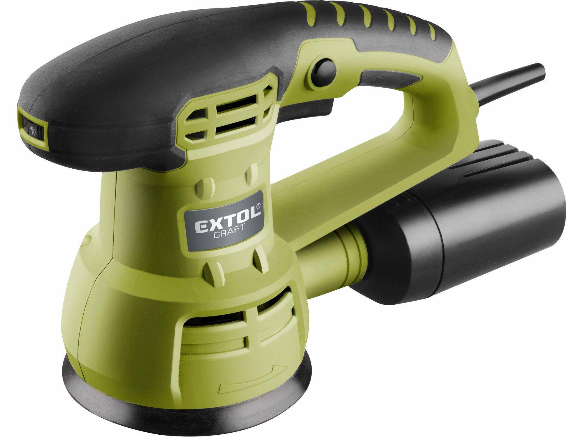 Bruska vibrační excentrická, 430W, 125mm, EXTOL CRAFT, 407202