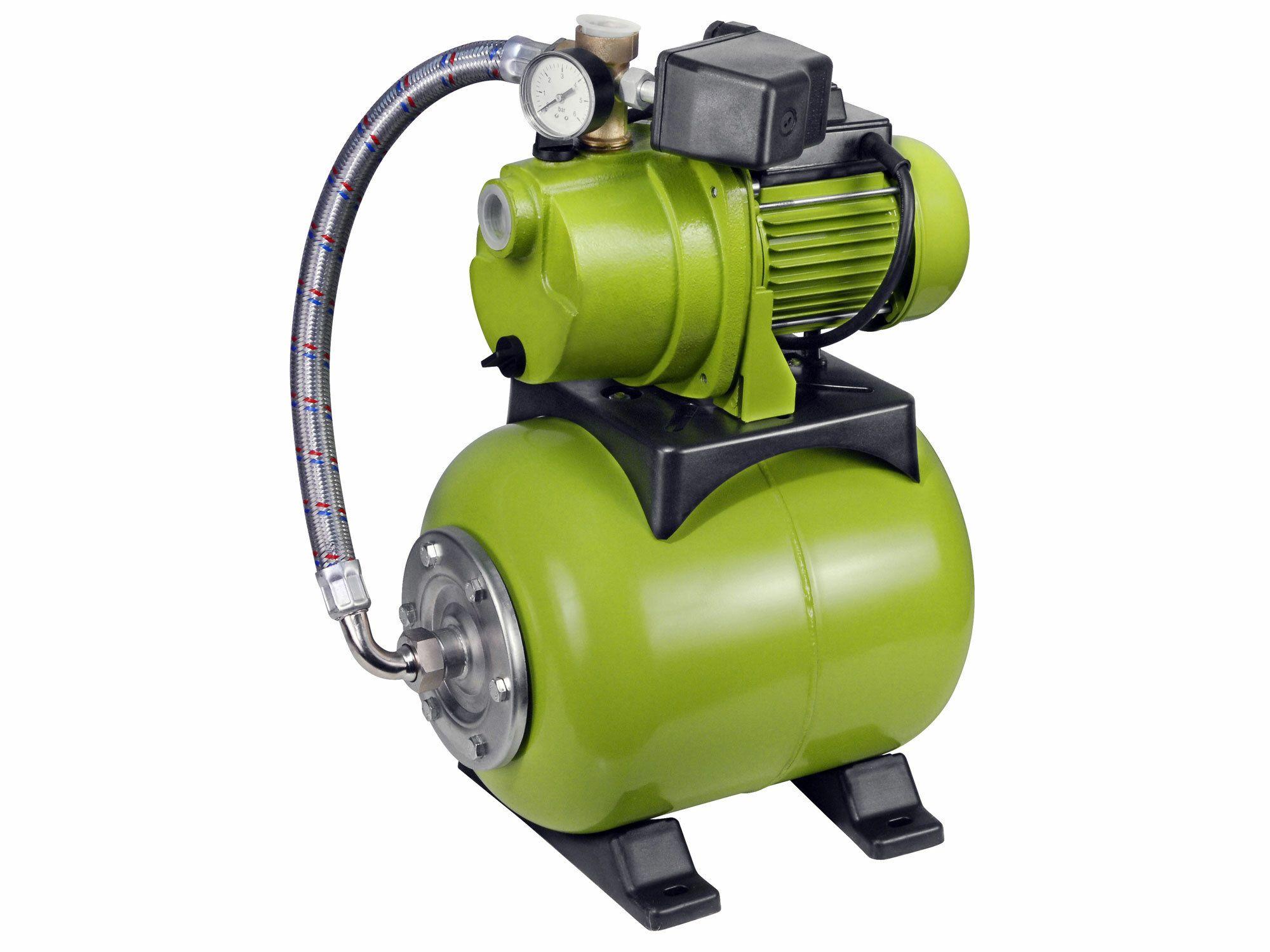 Čerpadlo el. proudové s tlak. nádobou, 1200W, 3800l/hod, 20l, EXTOL CRAFT, 414251