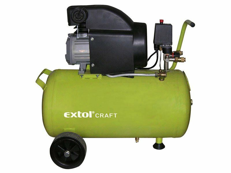 Kompresor olejový, 1500W, 50l, EXTOL CRAFT, 418210