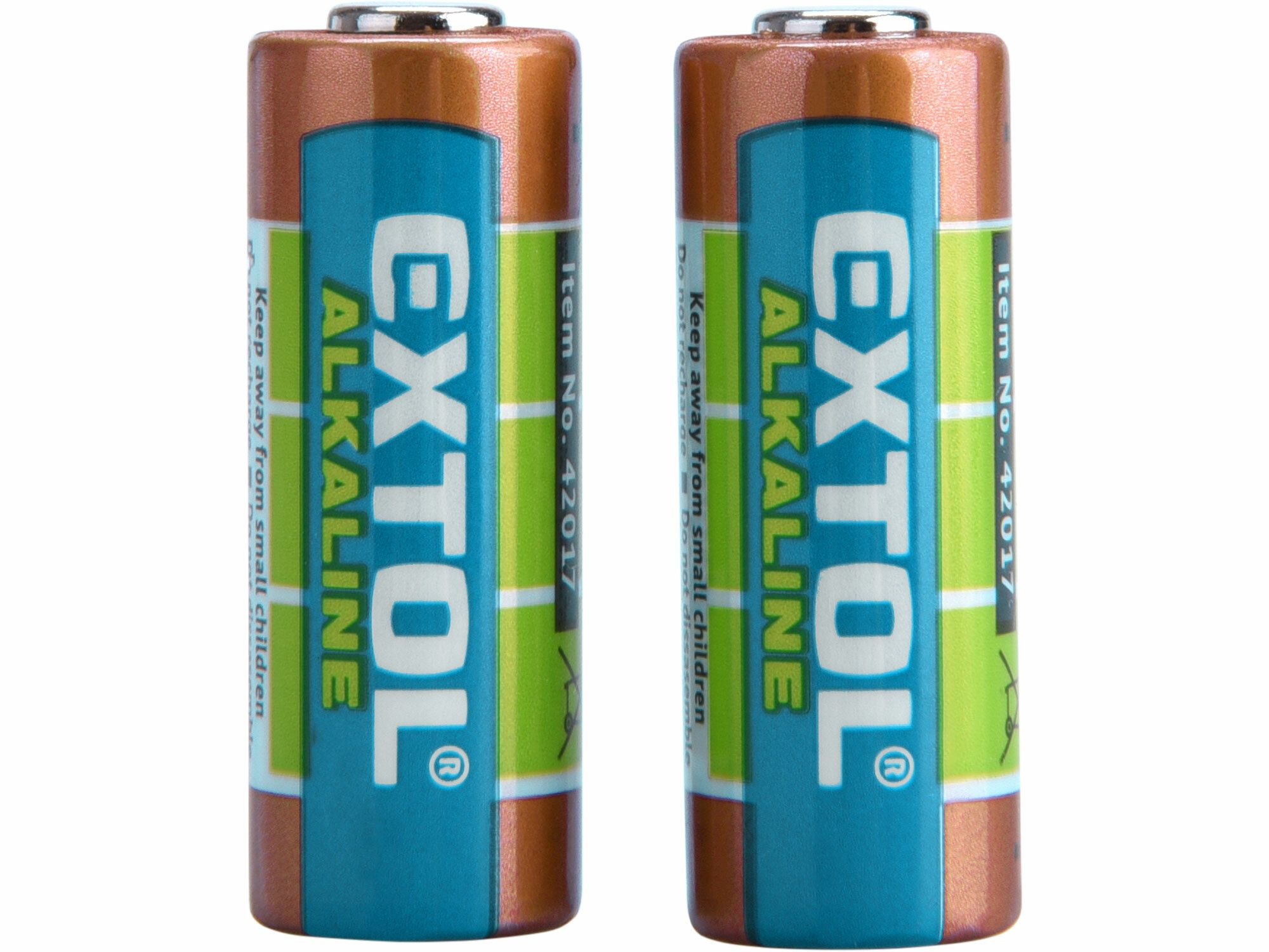 Baterie alkalické, 2ks, 12V (23A), EXTOL ENERGY