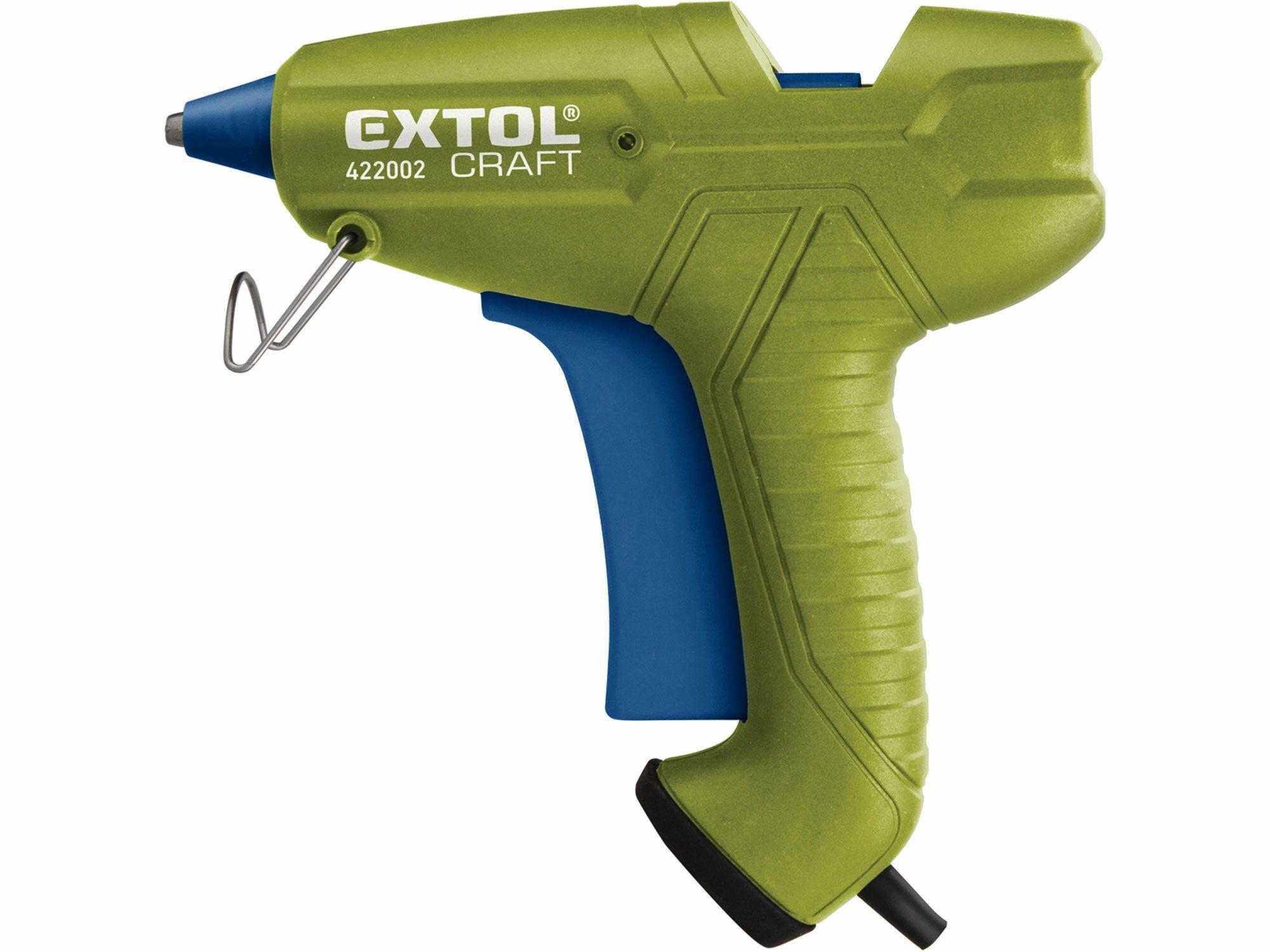 Pistole tavná lepící, Ř11mm, 65W, EXTOL CRAFT 422002