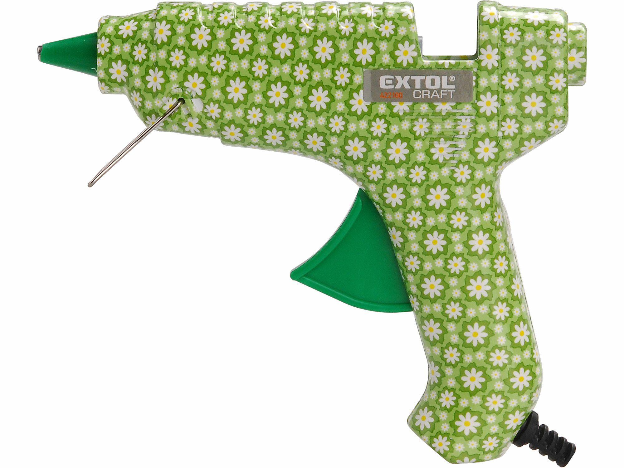 Pistole tavná lepící, květinová, 40W, 11mm EXTOL-CRAFT