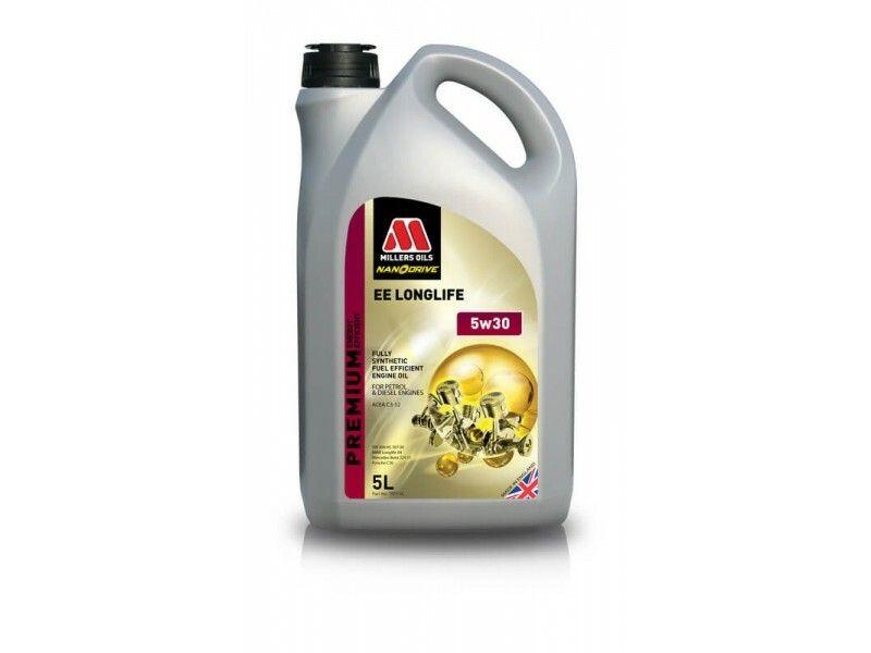 Millers Premium EE Longlife 5w30 5l MILLER OILS