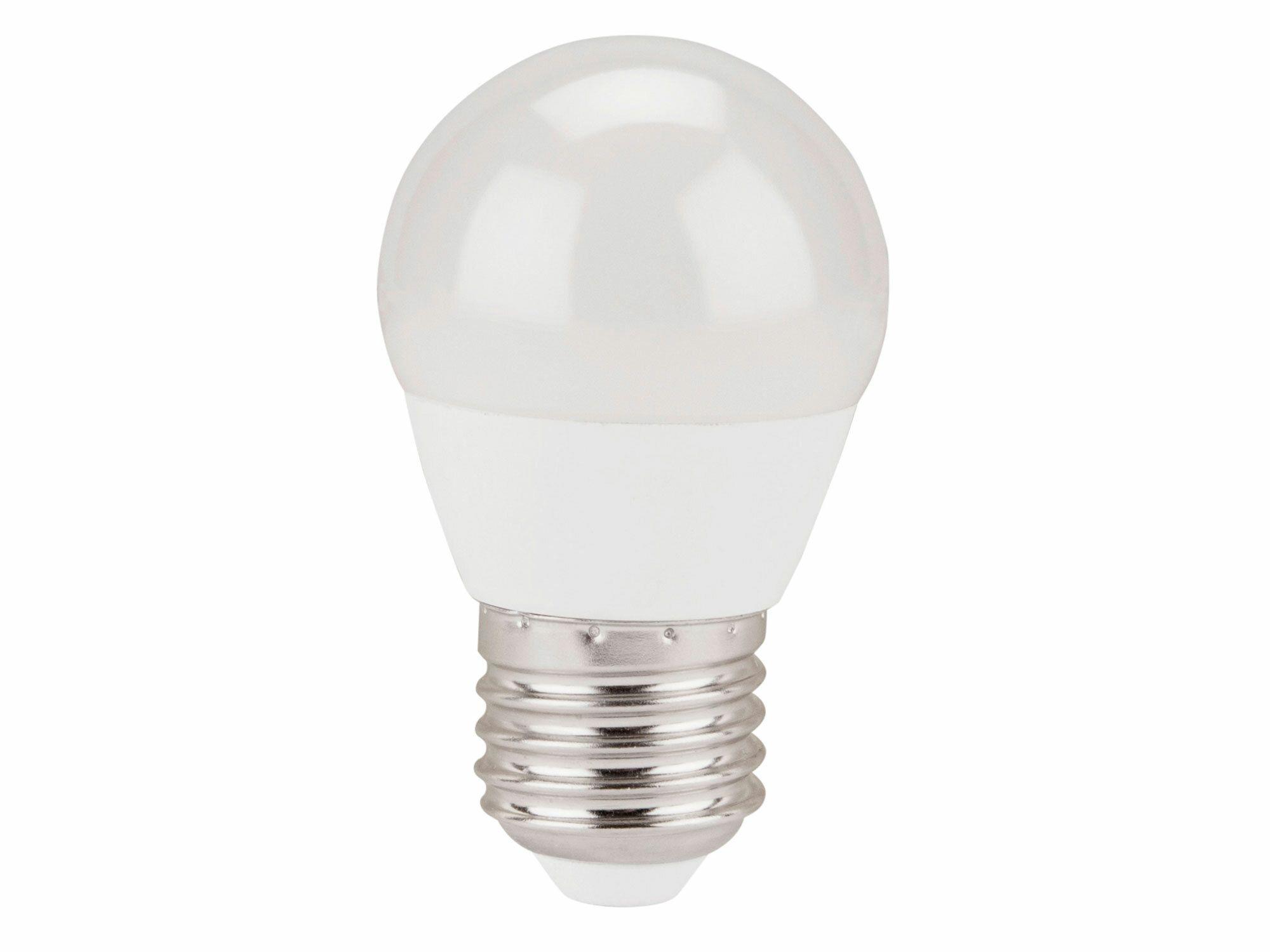 Žárovka LED mini, 5W, 410lm, E27, teplá bílá, EXTOL LIGHT