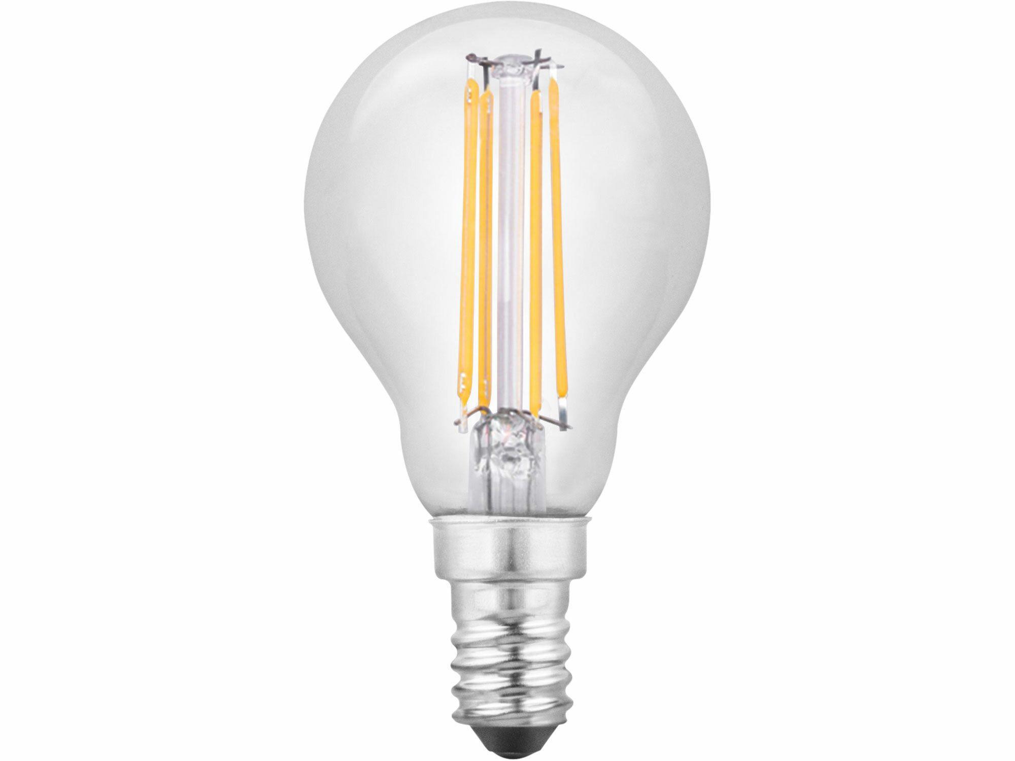 Žárovka LED 360°, 400lm, 4W, E14, teplá bílá, EXTOL LIGHT