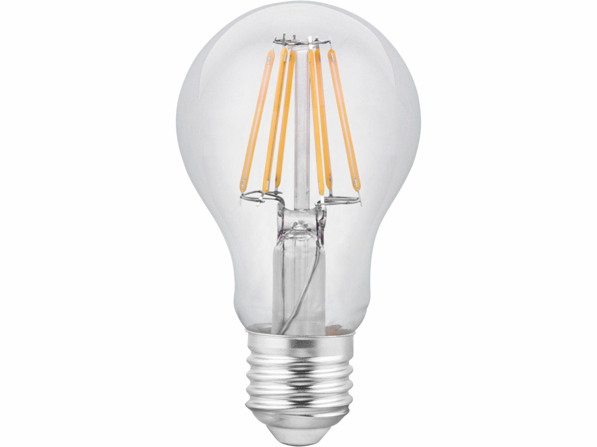 Žárovka LED 360°, 1000lm, 8W, E27, teplá bílá EXTOL-LIGHT