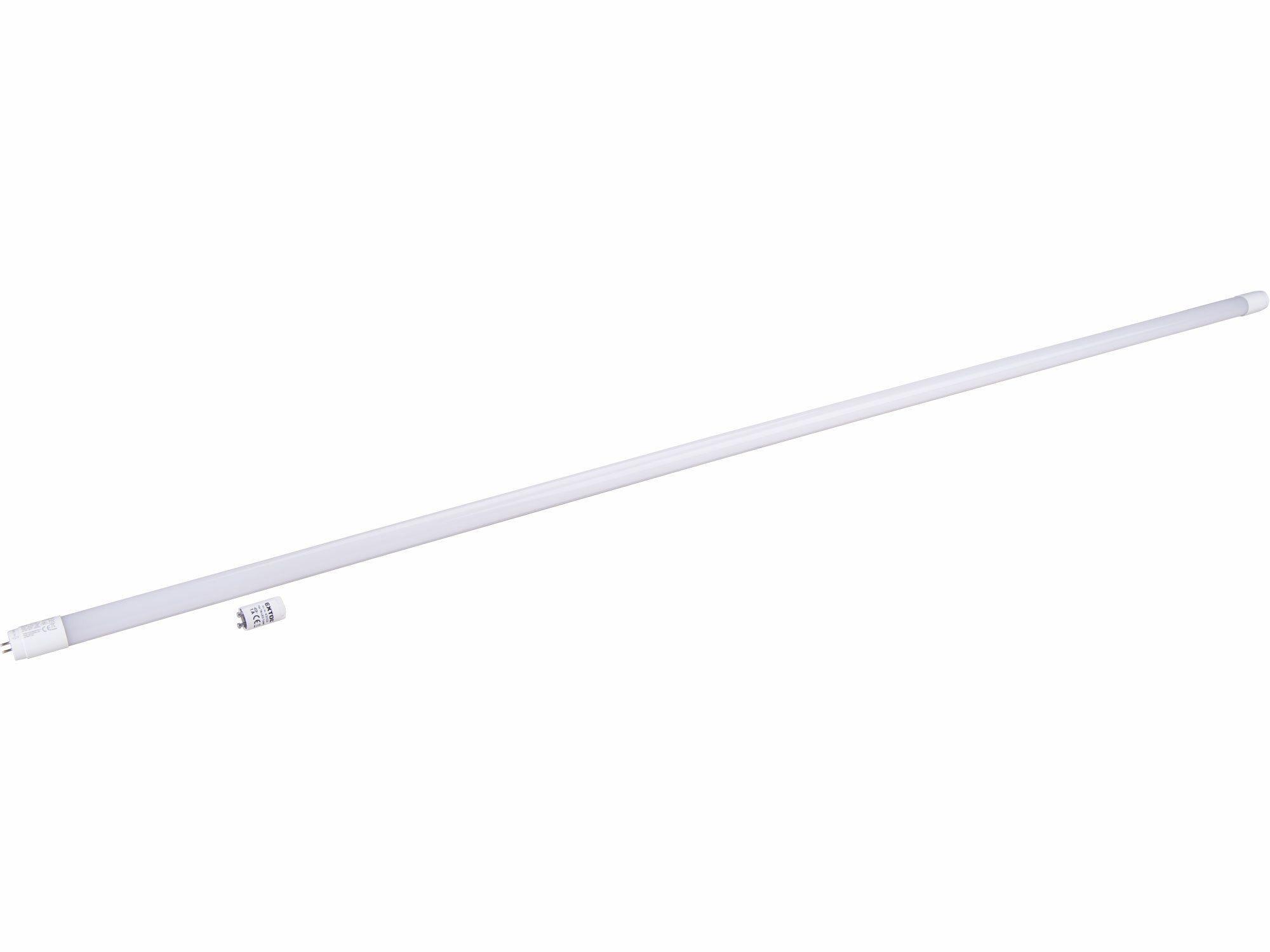 Zářivka LED, 150cm, 2200lm, T8, neutrální bílá, PC + ALU EXTOL-LIGHT