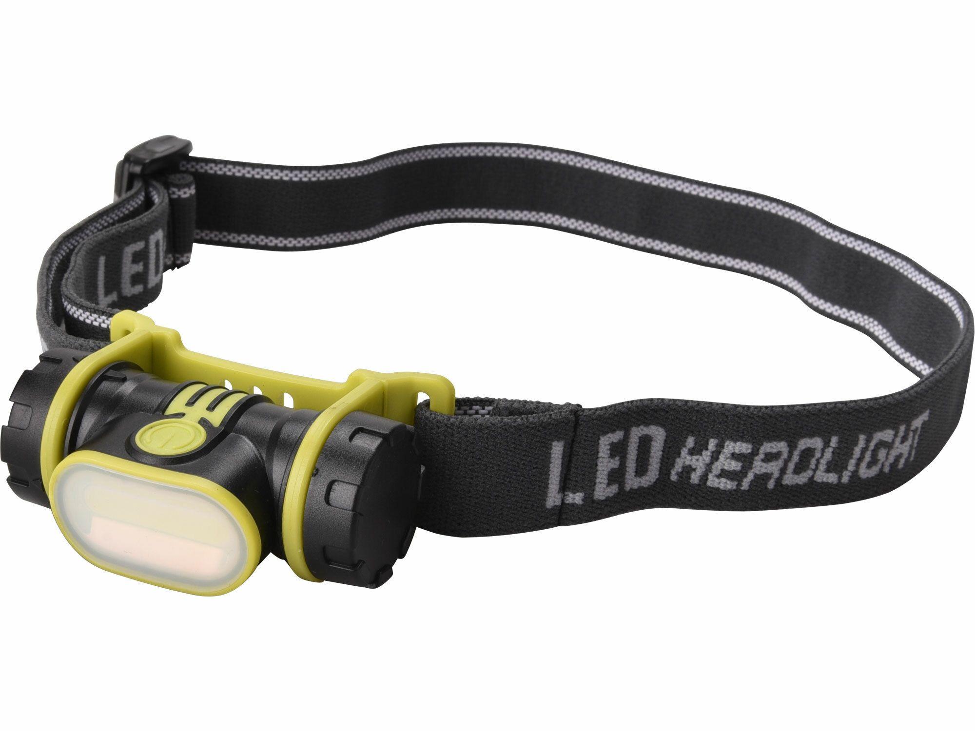 Čelovka širokoúhlá 90lm COB, 2W COB LED, EXTOL LIGHT 43106